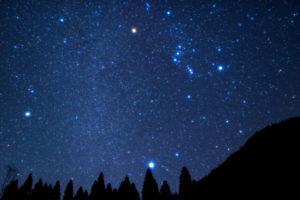 満天の星空